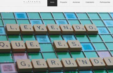 Proyecto www.leyendoqueesgerundio.com