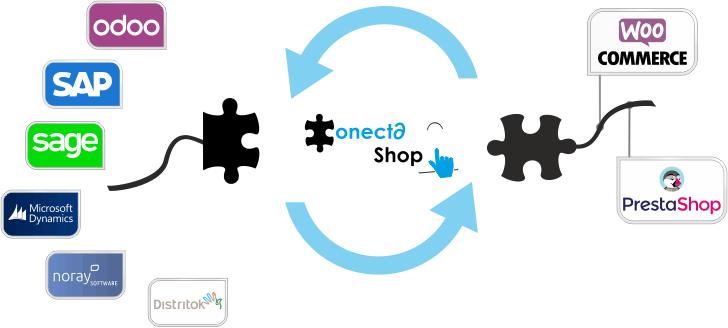 Conector Conecta Shop