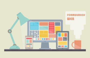 Formularios web para interactuar con la empresa