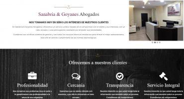 Proyecto Abogados Sanabria y Goyanes