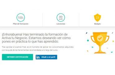 Certificación Google Activa tu Negocio. Fundamentos del Marketing digital
