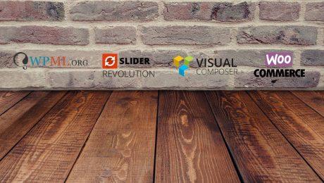 Componentes básicos de una web diseñada en Wordpress