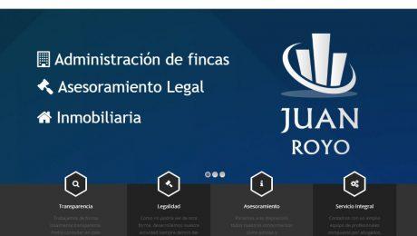 Diseño Web Fincas Juan Royo