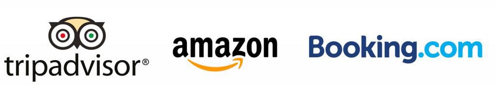 tripadvisor amazon booking.com
