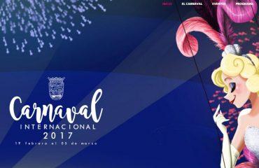 Diseño Web de Carnaval Puerto de la Cruz