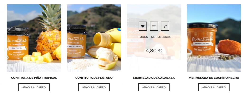 Productos tienda online la natural