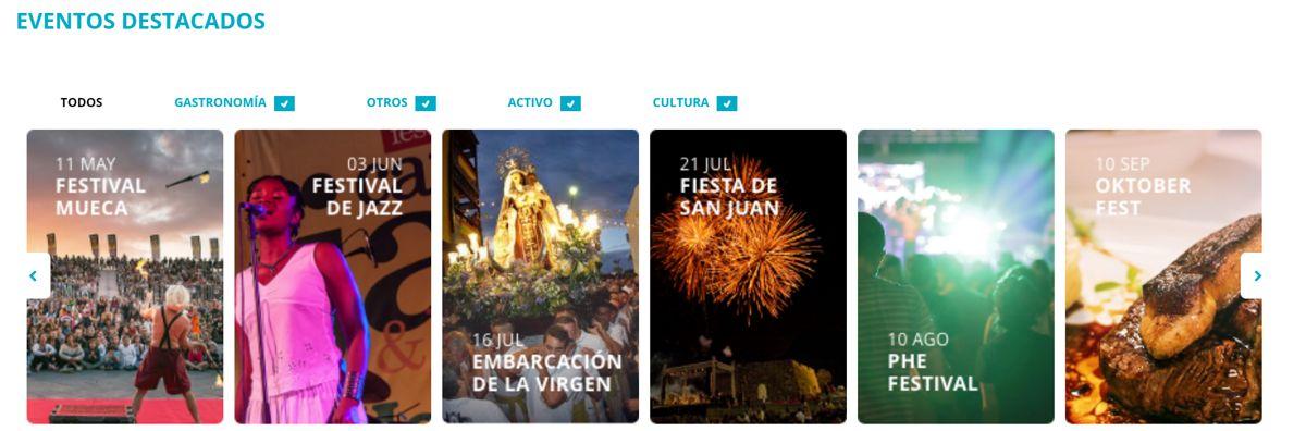 Eventos destacados Visit Puerto de la Cruz