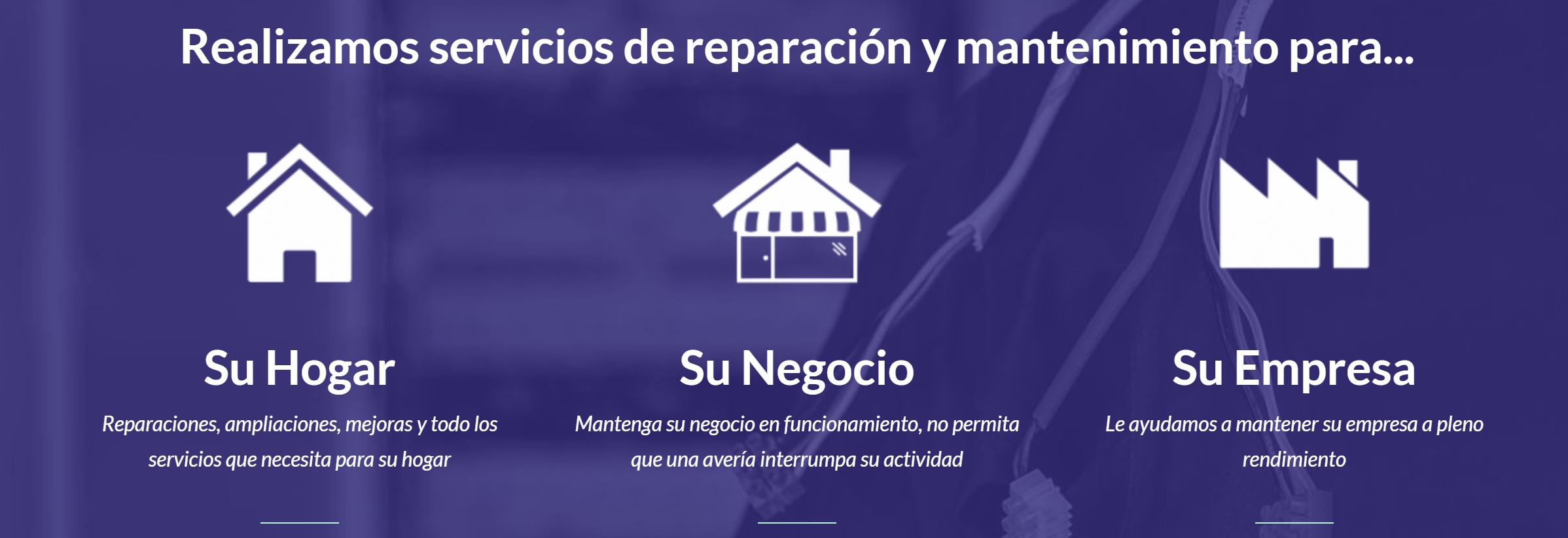 Elec-Font Elemento Servicios Home