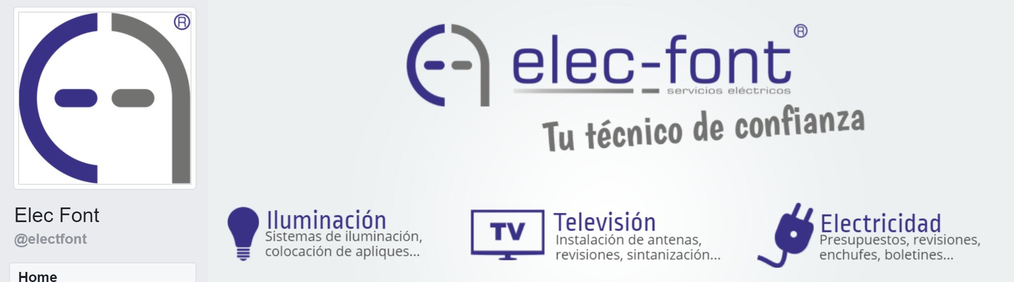 Elec-Font Facebook