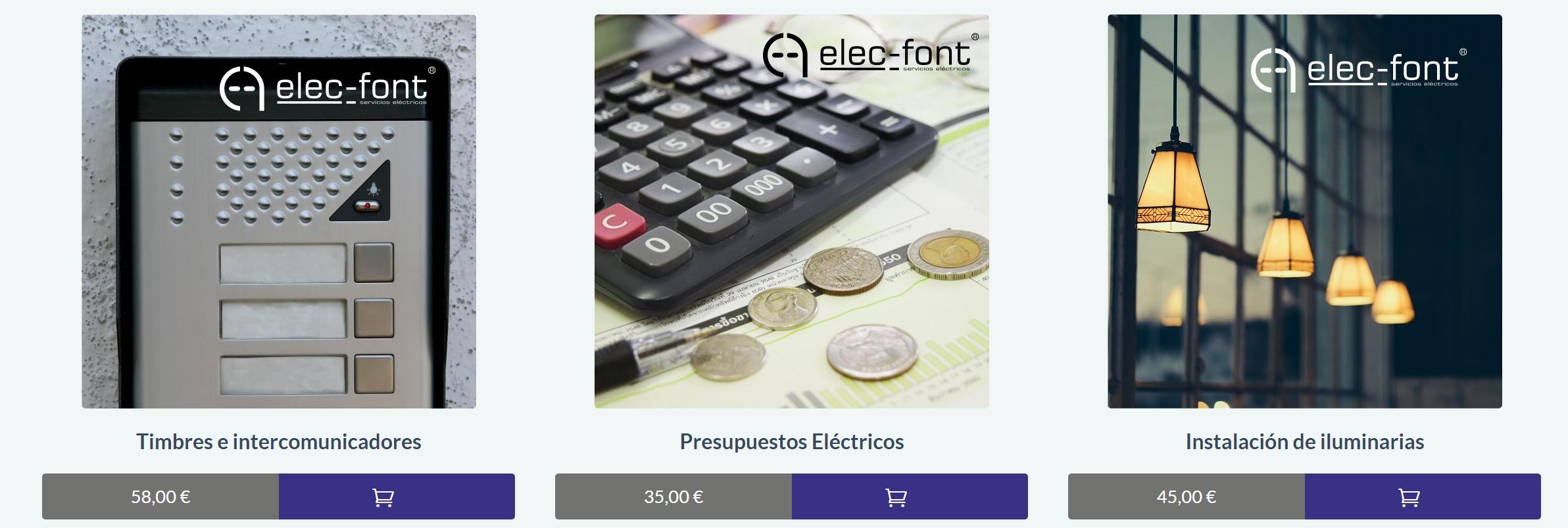 Elec-Font Tienda Online