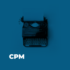 Conecta Software-Glossar - Marketing - CPM