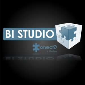 logo de bi studio business intelligence con conecta etl
