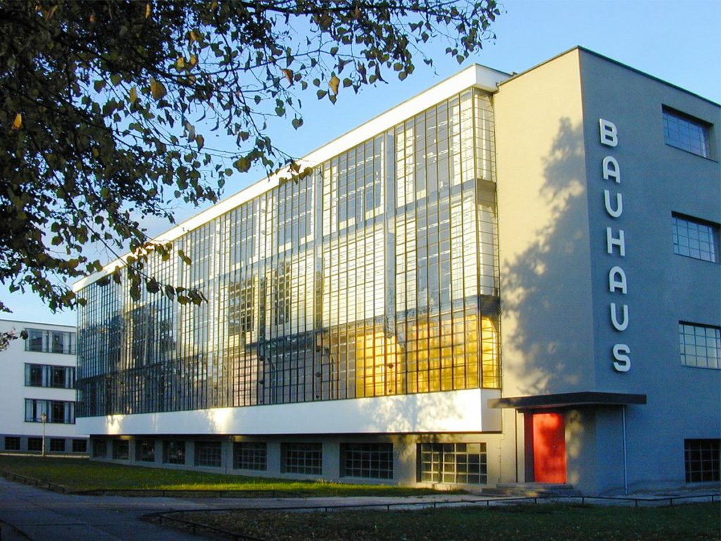 bauhaus school building germany architecture art