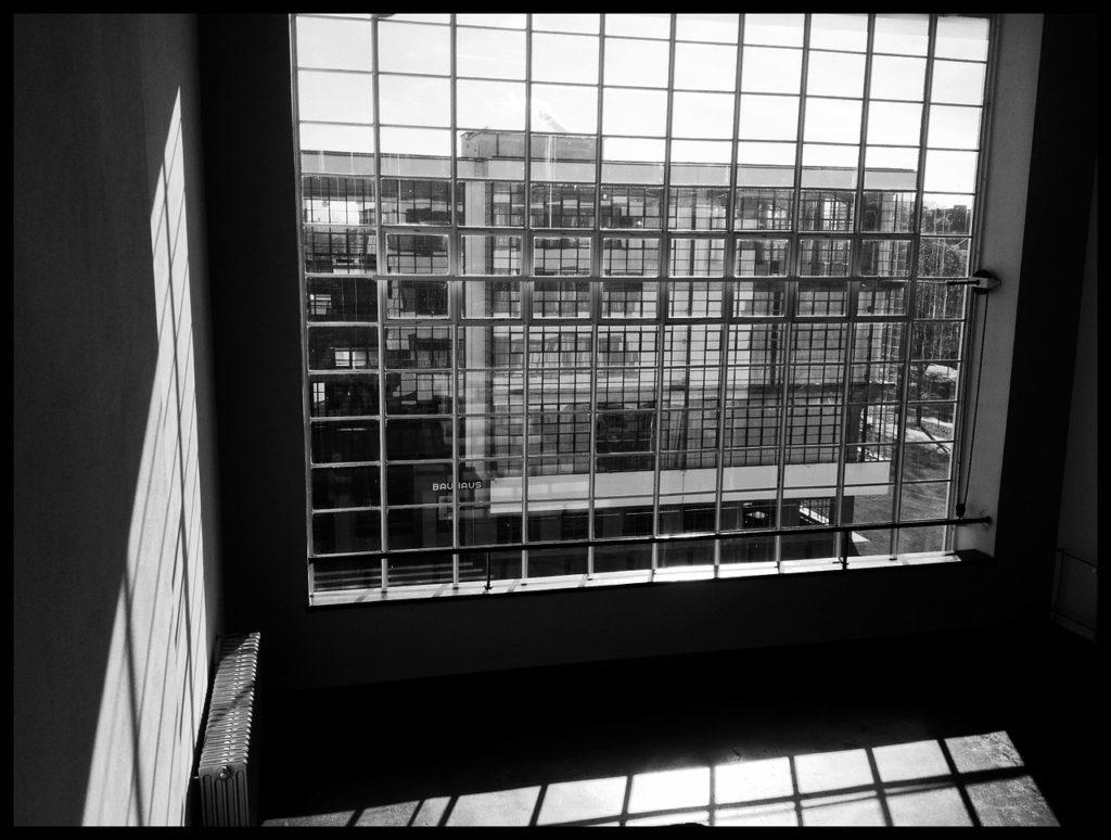 bauhaus window minimalist architecture