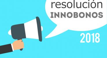 resolucion innobonos 2018 subvenciones tecnologicas
