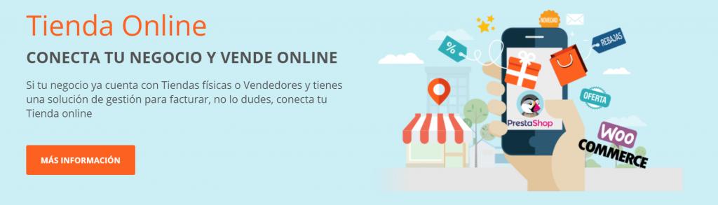 tienda online ecommerce conector erp conectashop conecta software