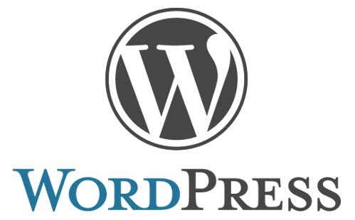 logo wordpress cms paginas web