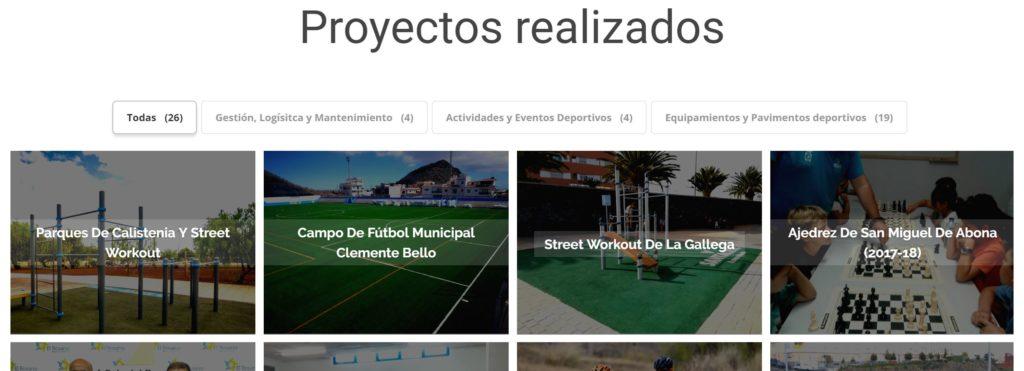 proyectos realizados serdican tenerife