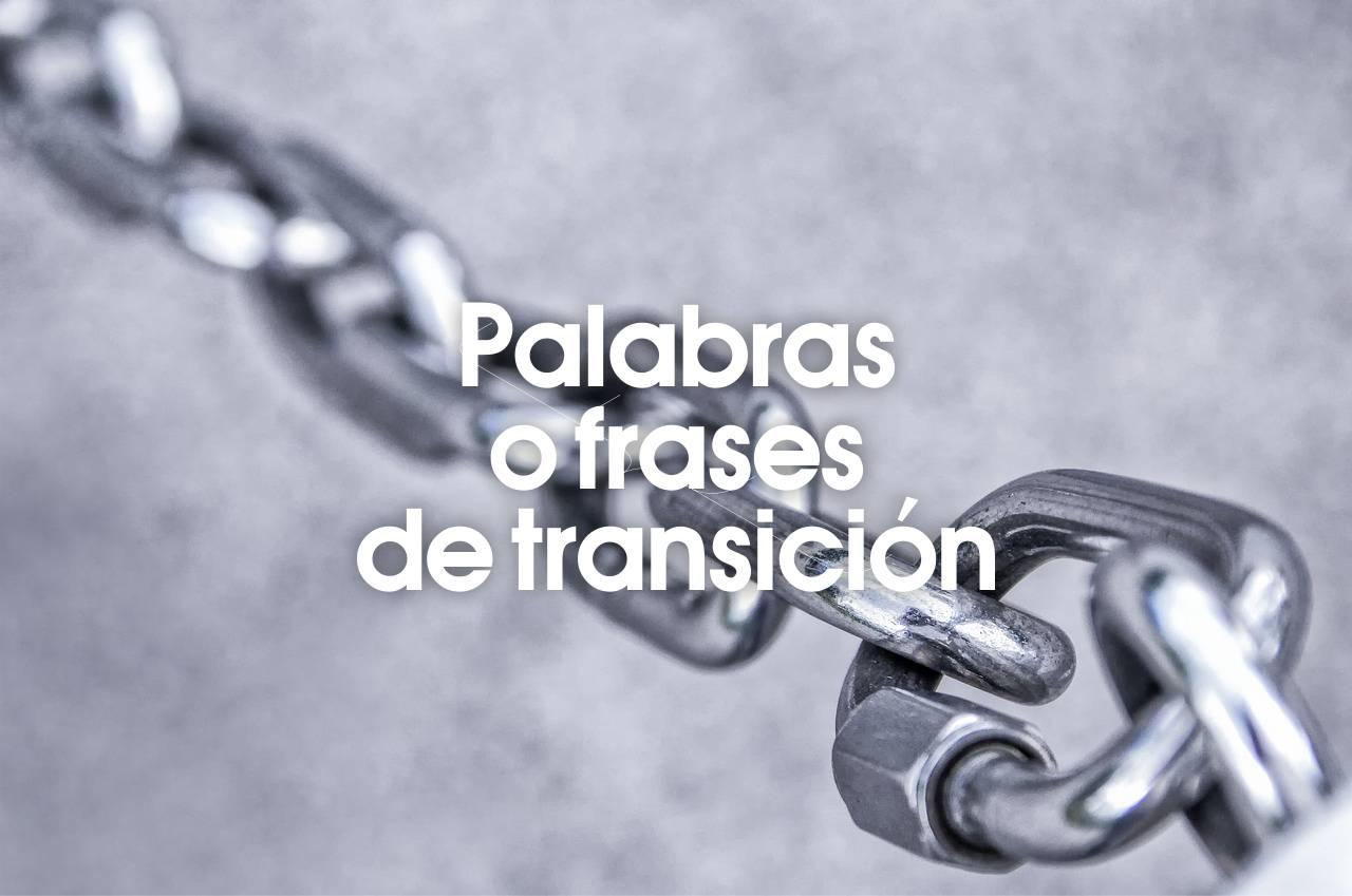 Palabras O Frases De Transición Conecta Software