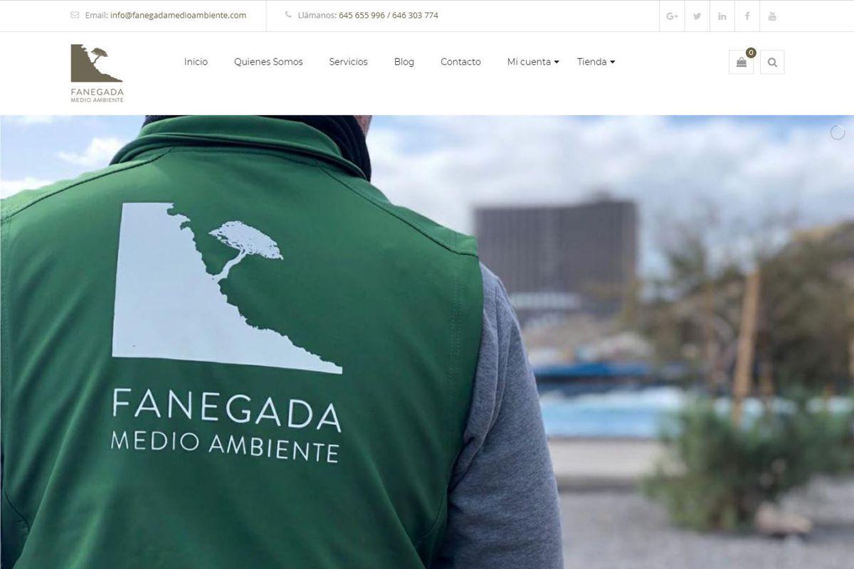 portfolio ecommerce fanegada medioambiente