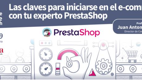 Formación para iniciarse en el ecommerce con PrestaShop Canarias Tenerife 2018
