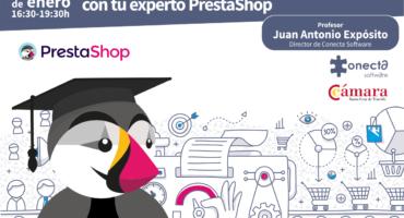 Formación para iniciarse en el ecommerce con PrestaShop Enero