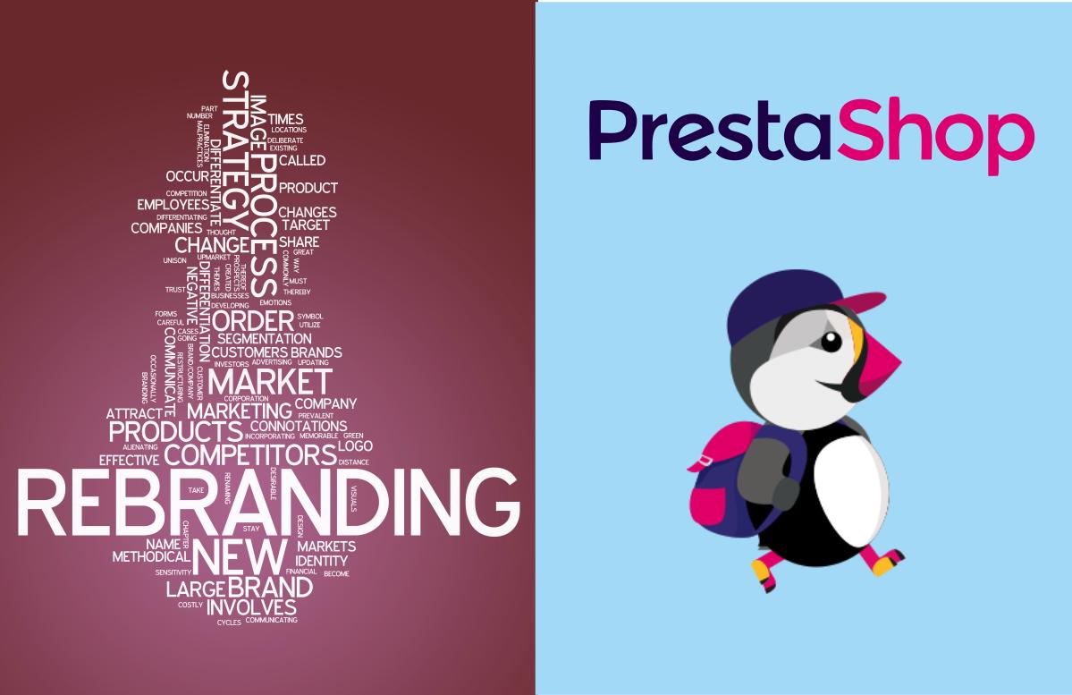 Rebranding Prestashop