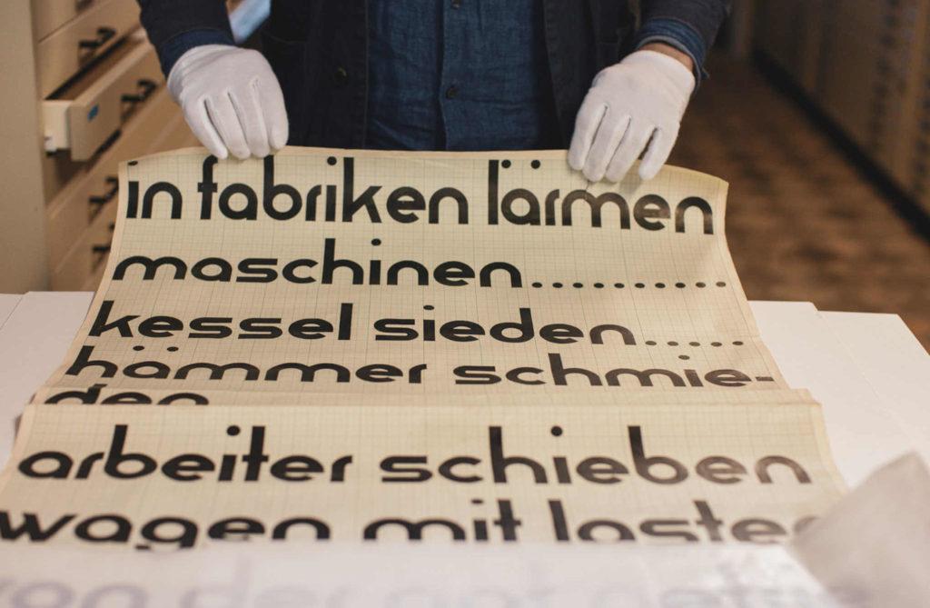 Tipografías Bauhaus