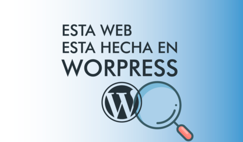 Esta Web esta hecha en WordPress