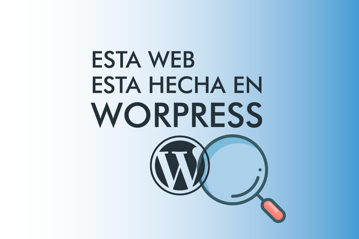 Esta Web esta hecha en WordPress
