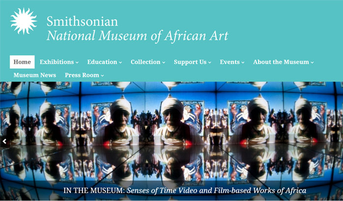 Smithsonian National Museum of African Art WordPress