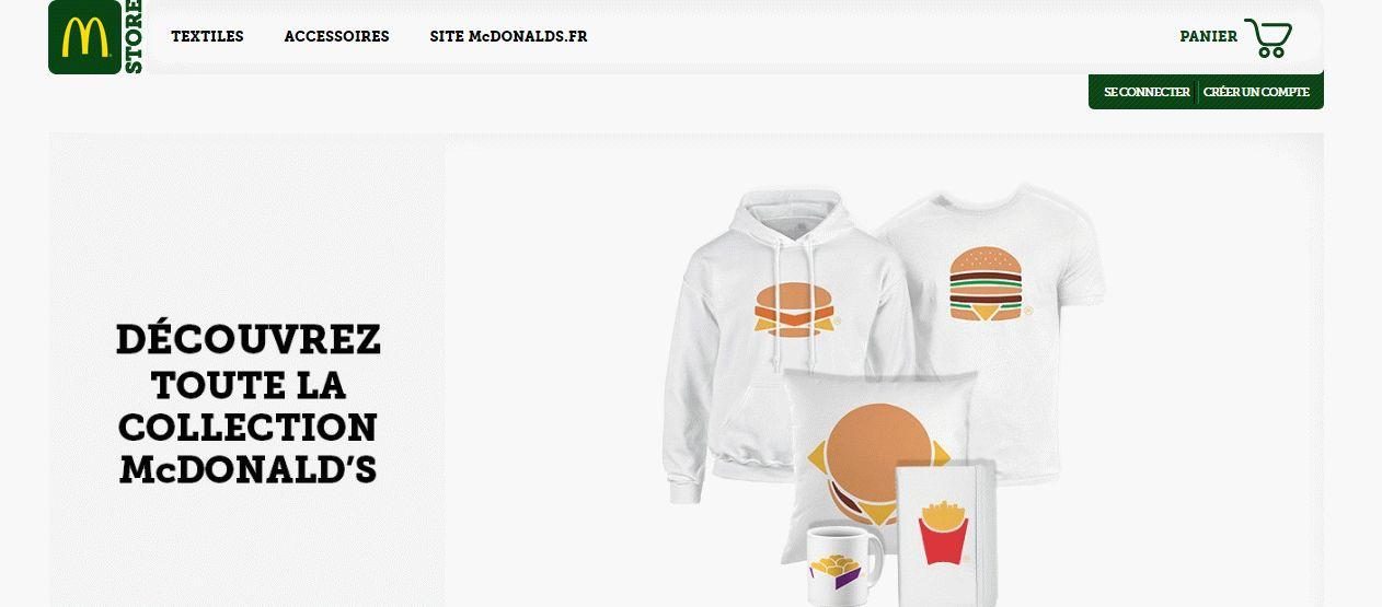 McDonalds PrestaShop