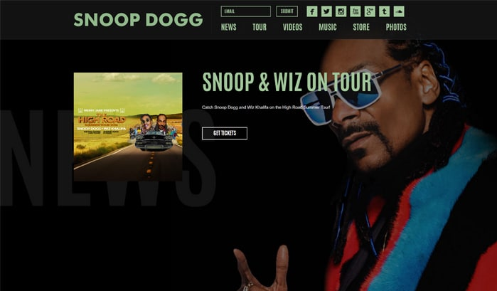 Snoop Dog WordPress