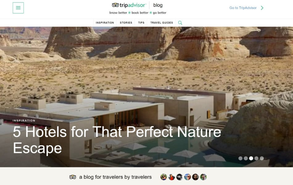 TripAdvisor WordPress