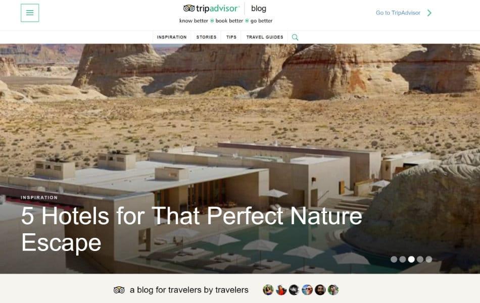TripAdvisor WordPress