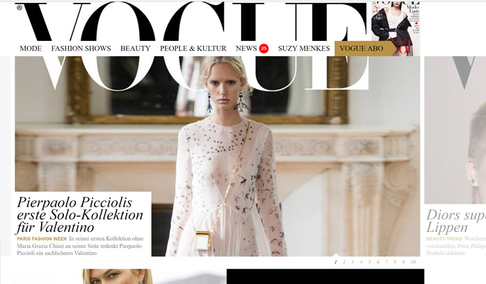 Vogue WordPress