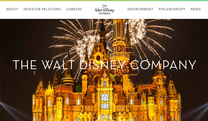 Walt Disney WordPress