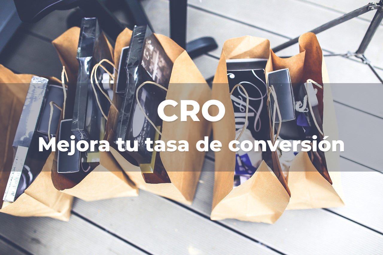 CRO - Optimización tasa conversion