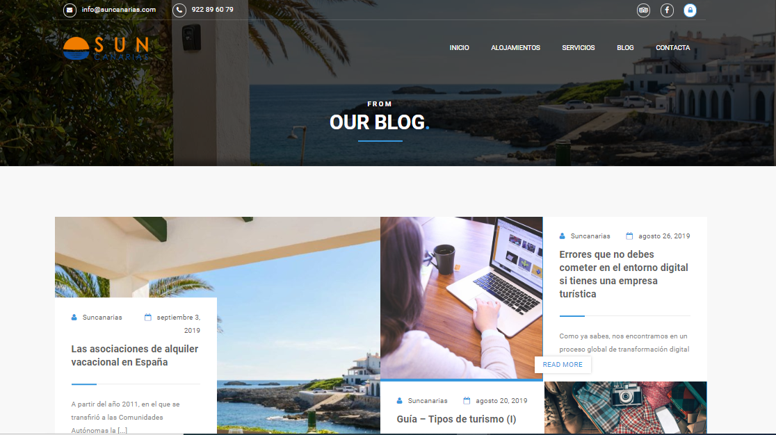 Portfolio Ecommerce Sun Canarias