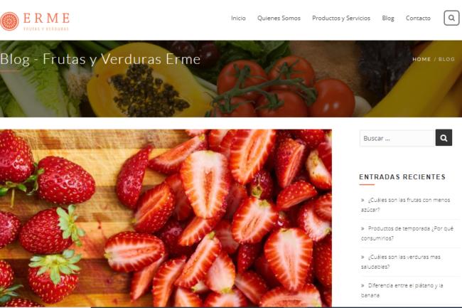 Frutas y Verduras Erme