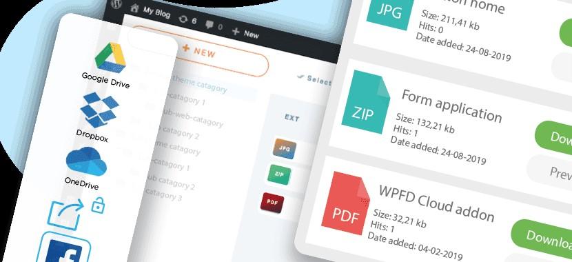 WP File Download - area privada