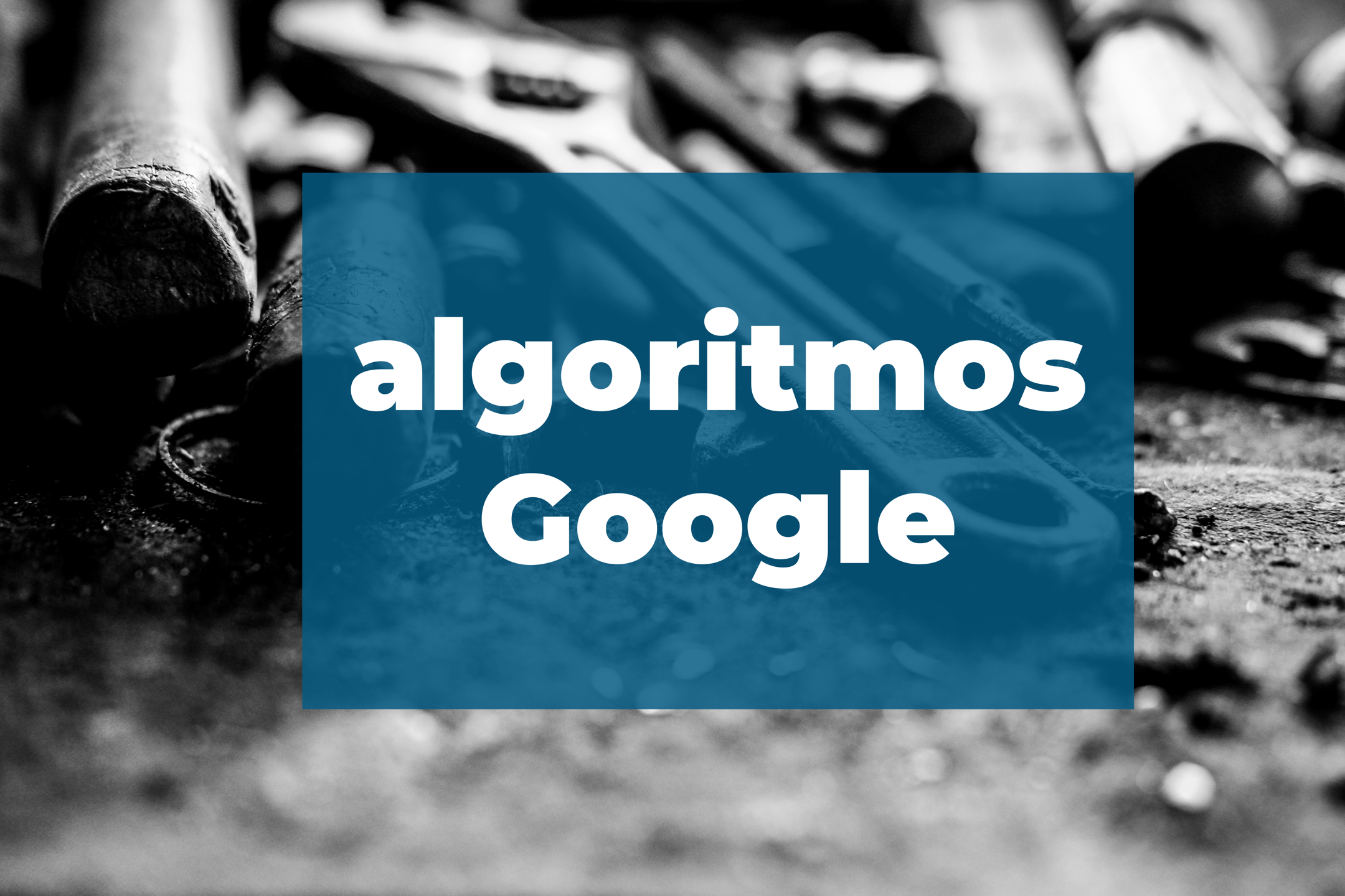 algoritmos google posicionamiento seo