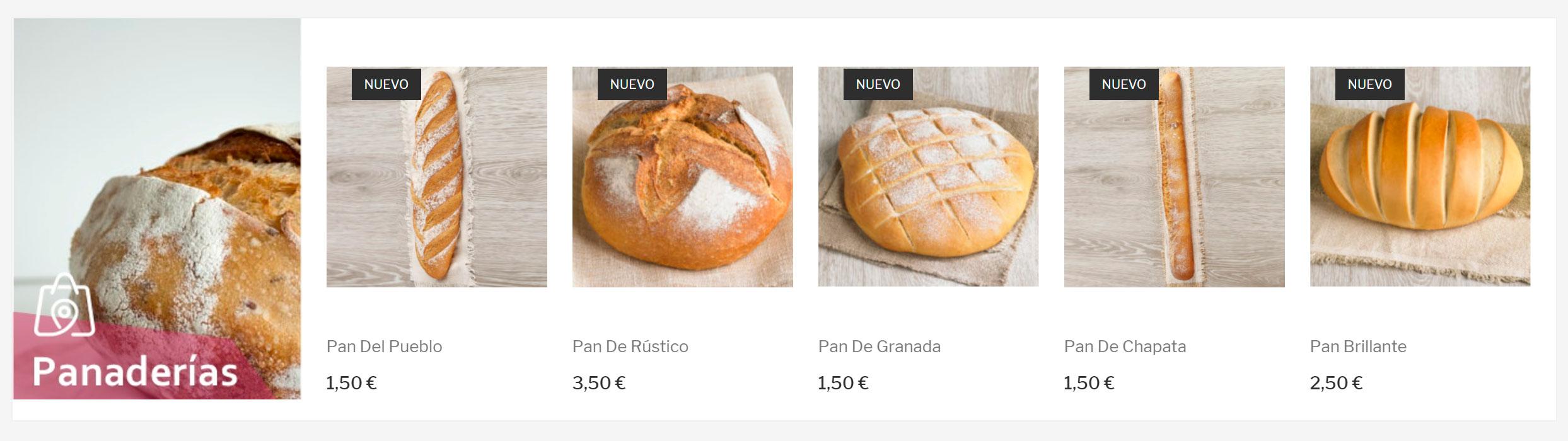 example category marketplace bakery